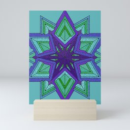 Star Violets Mini Art Print
