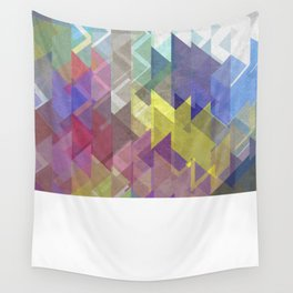Lovely Triangle No. 2 Wall Tapestry