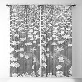 Escher- Three Worlds Sheer Curtain