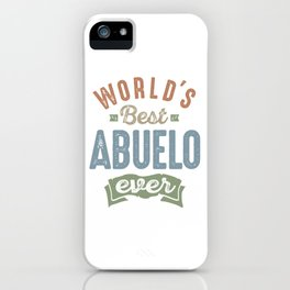 Best Abuelo iPhone Case