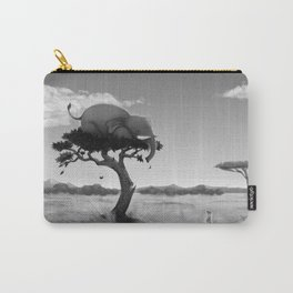 Scaredy Elephant Carry-All Pouch