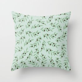 I left my heart in the Aegean Throw Pillow