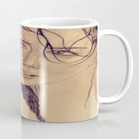 katniss Mugs featuring Katniss Everdeen by KOverbee
