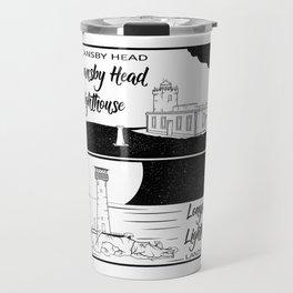 Longships Lighthouse Duncansby Head Travel Mug