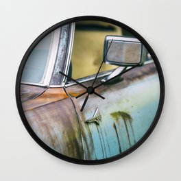 Old Thunderbird Wall Clock