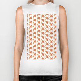Autumn leaves Biker Tank
