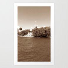 coastal light Art Print