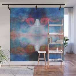 The white light | Abstract painting Wall Mural