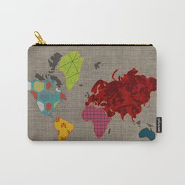 Simi's Map of the World Carry-All Pouch