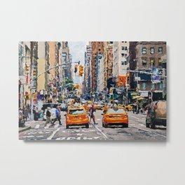 New York City, USA Metal Print
