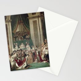 The Coronation of Napoleon and Josephine - Jacques-Louis David Stationery Cards