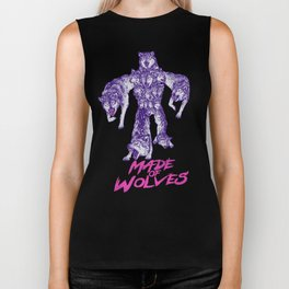 Made Of Wolves Biker Tank