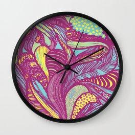Rainforest Rhapsody Wall Clock