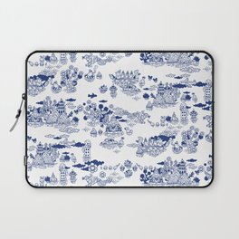 FLOOD IN ANTIQUE CHINESE PORCELAIN Laptop Sleeve
