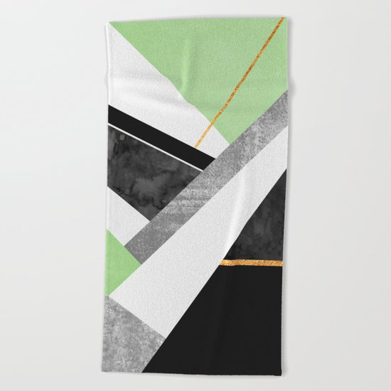 Lines & Layers 1.3 Beach Towel