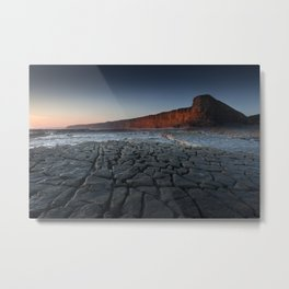Nash Point Heritage Coastline Metal Print