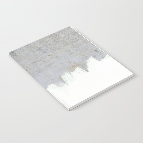 Painting on Raw Concrete Notebook