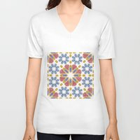 morocco V-neck T-shirts featuring Morocco by Vicky Webb