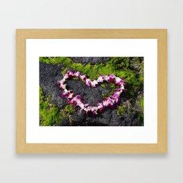 Heart of Aloha Framed Art Print