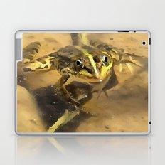 Marsh Frog Laptop & iPad Skin