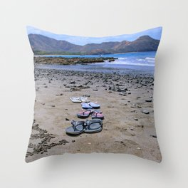 Return to Costa Rica Throw Pillow