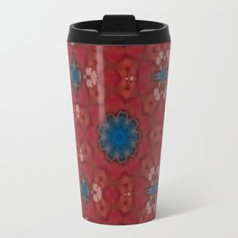 New Color Pyramidal Mandala 73 - Pattern 4 Travel Mug