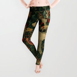 The Unicorn Defends Itself (from the Unicorn Tapestries) 1495–1505 Leggings
