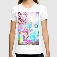 carousel T-shirts featuring carousel by Charlie L'amour