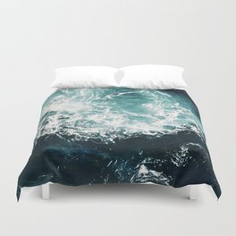 Sea waves II Duvet Cover