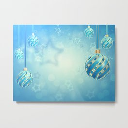 Christmas decoration Metal Print