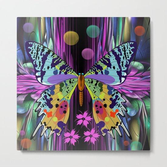 Summer butterfly Metal Print