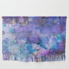 Flirting with Disaster Alcohol Ink Painting Wall Hanging