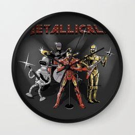 Metallicals (Colaboration between Faniseto & Fuacka) Wall Clock