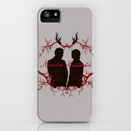 Murder Husbands iPhone Case