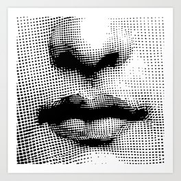 Lina Cavalieri Nose & Mouth Art Print
