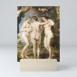 Peter Paul Rubens - The Three Graces Mini Art Print