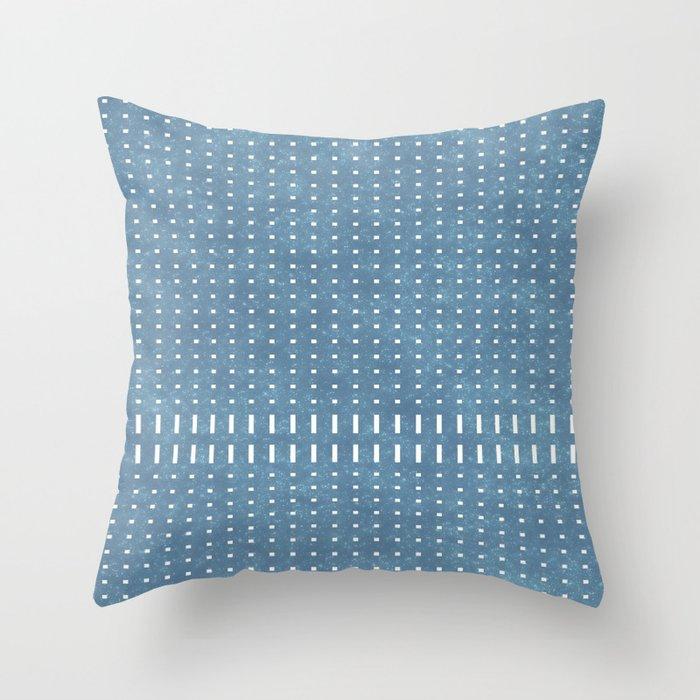 Star Dust Blue 02 Throw Pillow