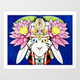The Goddess Art Print