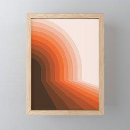 Desert Dusk Halfbow Framed Mini Art Print