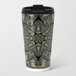 Labradorite Starlight Metal Travel Mug