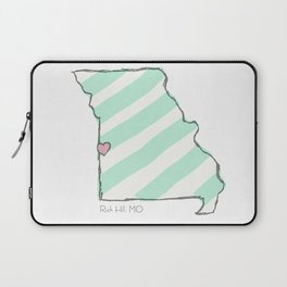 Home Is Where The Heart Is: Rich Hill, Missouri Laptop Sleeve