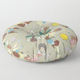 For the love of Books 02 Floor Pillow