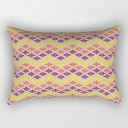 Zig Zag Pattern Rectangular Pillow