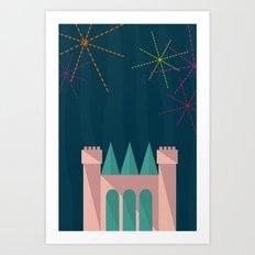 Princess Castle | Disney inspired Art Print