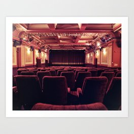 The Gate Cinema Art Print
