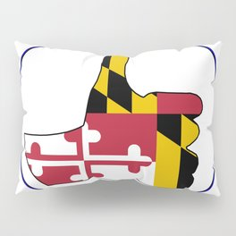 Thumbs Up Maryland Pillow Sham