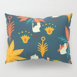 Tropical wild kitties Pillow Sham