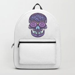 Day of the Dead Pastel Skull (Dia de los Muertos) Backpack