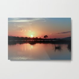 While You Were Sleeping Metal Print
