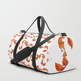 Kissing foxes Duffle Bag